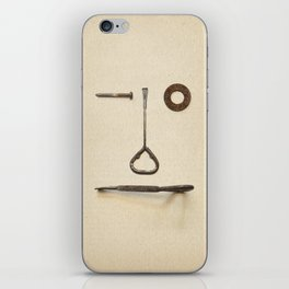 the Forgotten Workshop series- tool face iPhone Skin