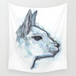 Vicuna Portrait Wall Tapestry