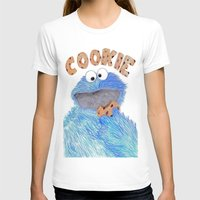 cookie monster T-shirts featuring cookie monster by Art_By_Sarah
