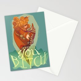 Not my daughter Stationery Cards