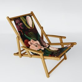 FLORAL AND BIRDS XIV Sling Chair
