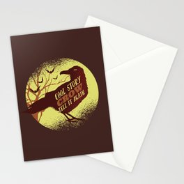 Cool Story Crow Stationery Cards