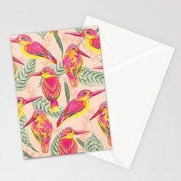PINK BIRDS Stationery Cards