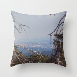 Brocken View II Throw Pillow