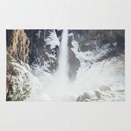 Yosemite Bridal Veil Falls Rug