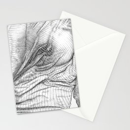 ASC 634 - Le drapé (Paranormal activity) Stationery Cards