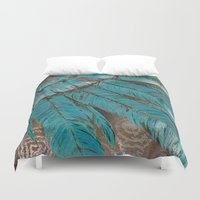pagan Duvet Covers featuring The Ancients by brenda erickson