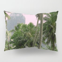 Pink Sunrise in The Marquesas Islands, French Polynesia Pillow Sham