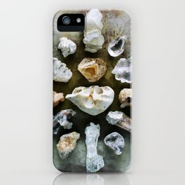 Crystalline Love Connection iPhone Case