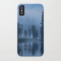 Peaceful Blue Slim Case iPhone X