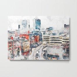 Manchester England Metal Print