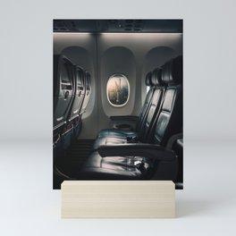 Airplane Seats Mini Art Print