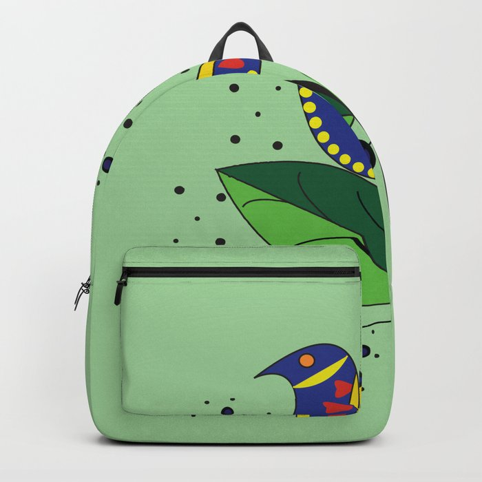 color bird Backpack