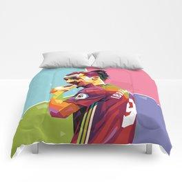 Zlatan Ibrahimovic alt-color WPAP Comforters