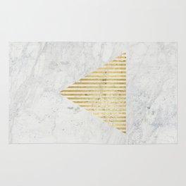 Trian Gold Rug