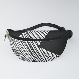 Peace Sign Sketch Fanny Pack