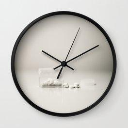 whitepills Wall Clock
