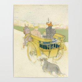 """Henri de Toulouse-Lautrec """"Partie de Campagne"""" Poster"""