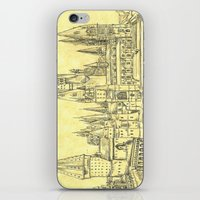 hogwarts iPhone & iPod Skins featuring Hogwarts by Christina Brunnock