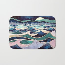 Moonlit Ocean Bath Mat