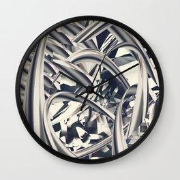 Mettalic Wall Clock