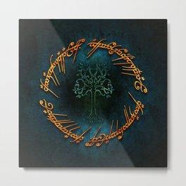ring tree Metal Print
