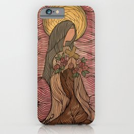 Saint Therese iPhone Case