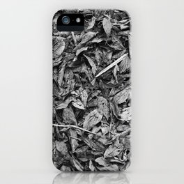 Fall Monochrome iPhone Case