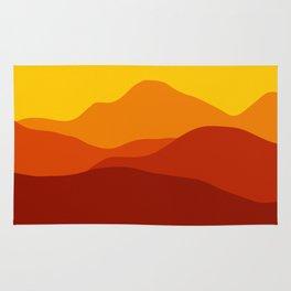 Mountains at Sunset  #society6 #decor #buyart #artprint Rug
