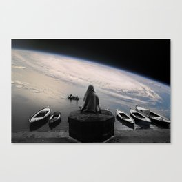 Cosmic Skipper Canvas Print