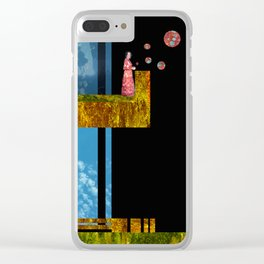 goodbye shirley Clear iPhone Case