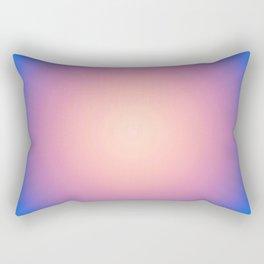 Round Sunset Rectangular Pillow