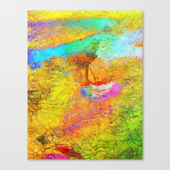 Abstract Texture 04 Canvas Print