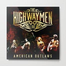 highway men american outlaws tour dates 2021 maridani Metal Print