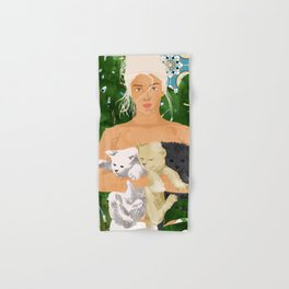 Morocco Vacay #illustration #painting Hand & Bath Towel