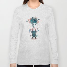 funny beetle Long Sleeve T-shirt