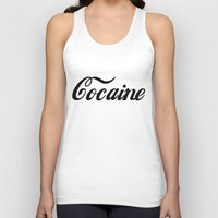 cocaine Tank Tops featuring Cocaine by Jeef