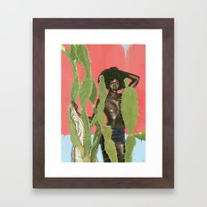 KAKTO Framed Art Print