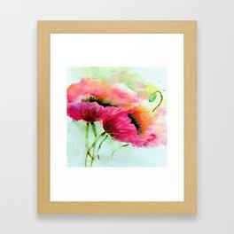Beautiful Poppy Framed Art Print