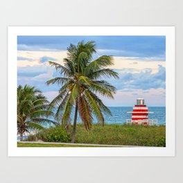 Miami Beach, Florida Art Print