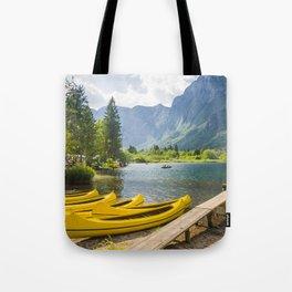 Bled lake, Slovenia Tote Bag