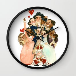 Hamilton Hug Wall Clock