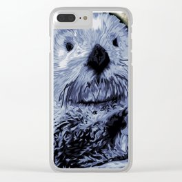 Sea Otter Clear iPhone Case