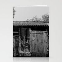 college Stationery Cards featuring College Lean2 by Luke Watson