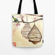 Chinese tea times two Tote Bag