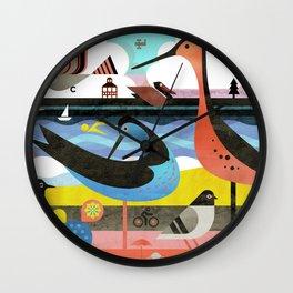 OBX Wall Clock