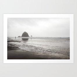 Canon Beach Art Print