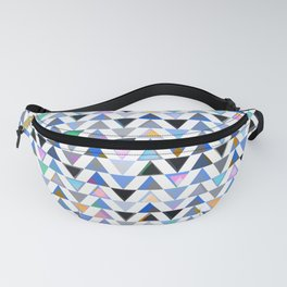BRIGHT BABY BLUES TRIANGLES Fanny Pack