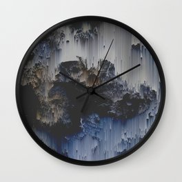 Fossilized Wall Clock