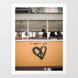 O Amor Art Print